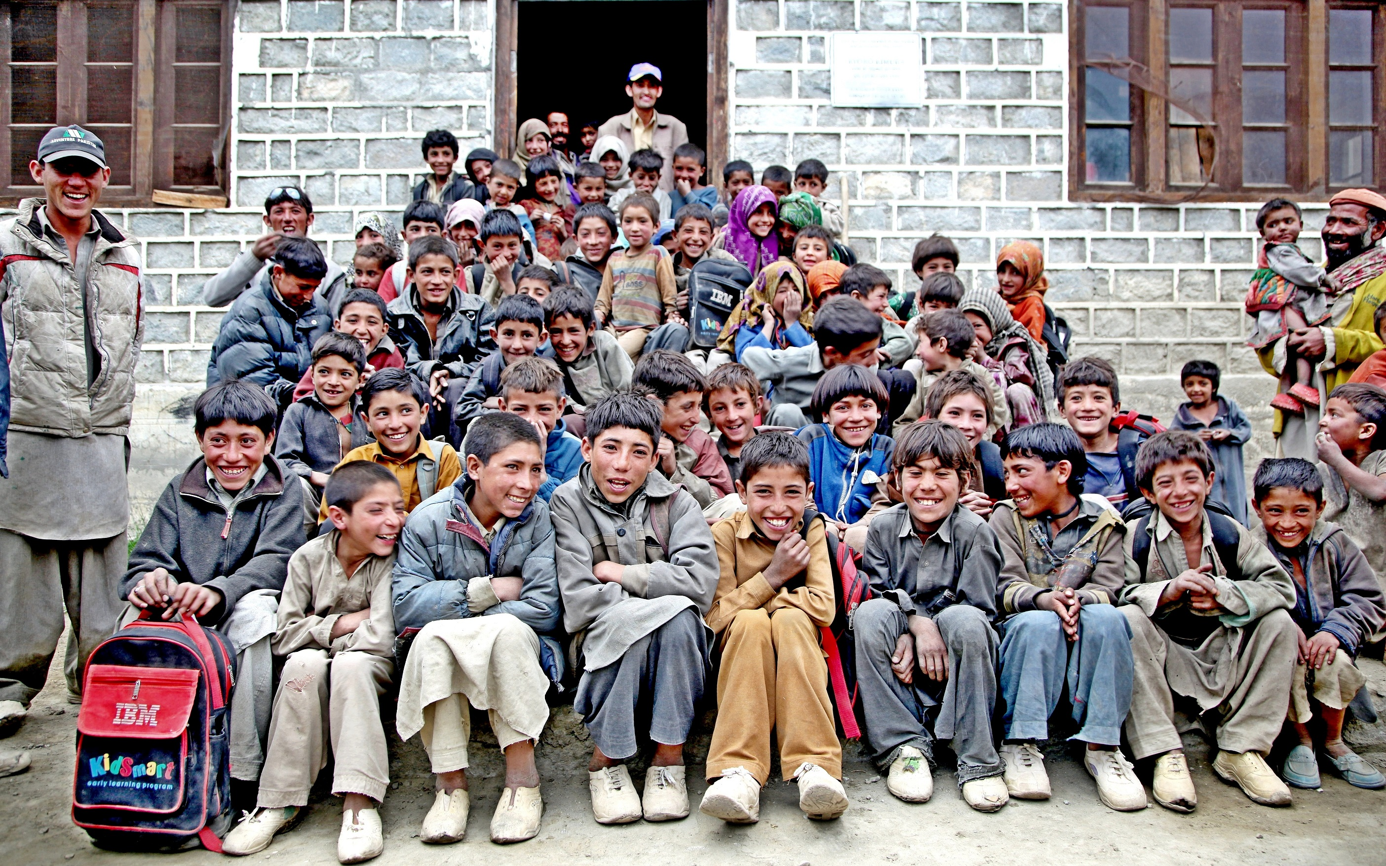 히말라야 학교 아이들을 위한 기부 캠페인